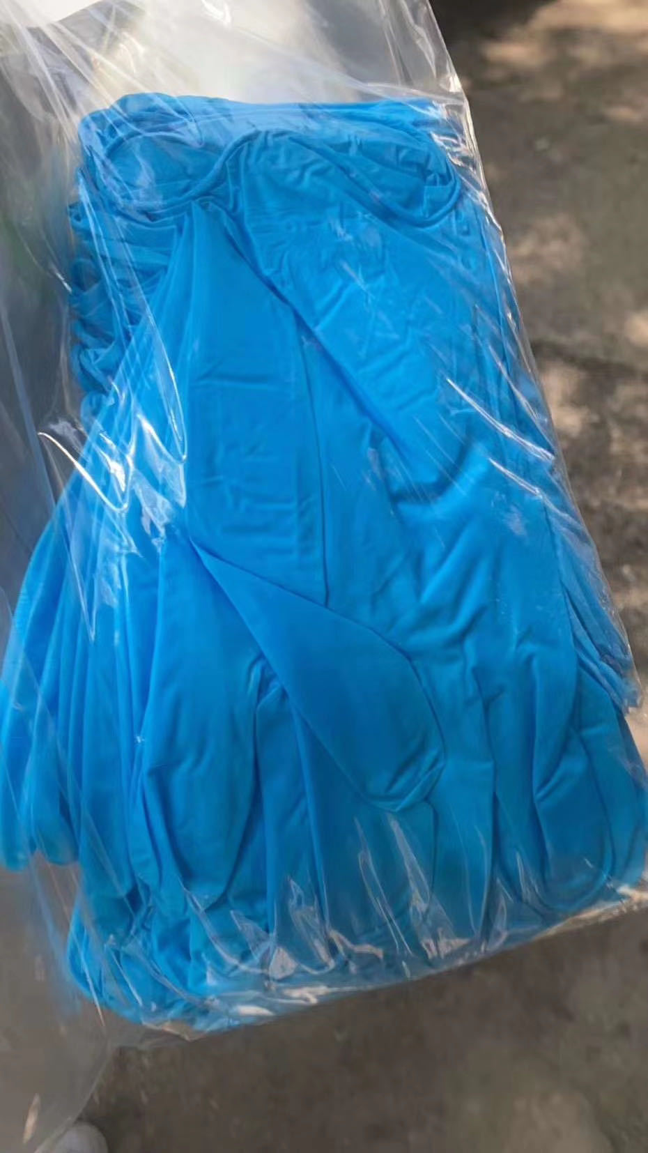 Honray medical nitrile powder free gloves